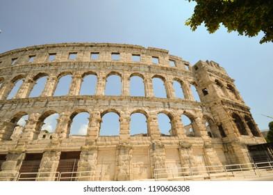 Pula Arena - Roman amphitheater - Croatia