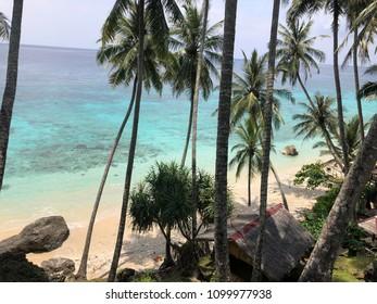 Pulau sabang beach view