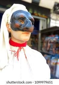 Pulcinella, Naples mask (Italy)