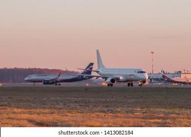 Pulkovo Airport. Official autumn spotting at Pulkovo November 28, 2018, Russia St. Petersburg