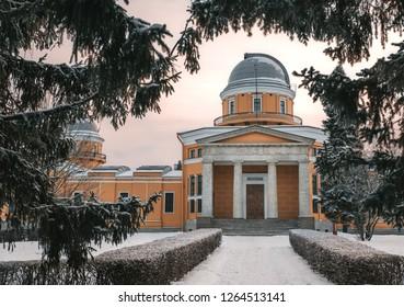 Pulkovo observatory building