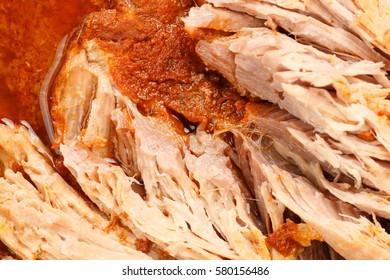 Pulled Pork Closeup