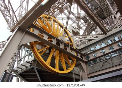 Pulley Wheel for the Elevators on the Eiffel Tower