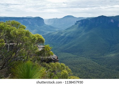 Pulpit Rock Lookout in Blue Mountains in Australia
