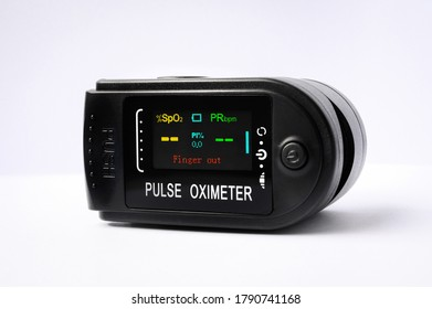 pulse oximeter isolated medicine covid tester