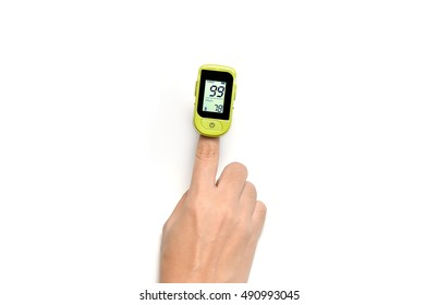 Pulse oximeter used  oxygen levels to and measure pulse rate