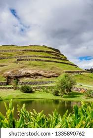 Pumapungo Ruins, Archeological Site, Cuenca, Azuay Province, Ecuador