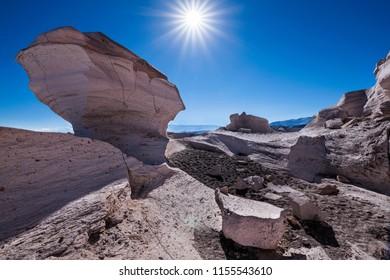 Pumice field, Catamarca Province, Argentina