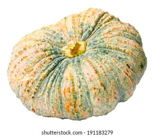 Pumkin isolated on white background, clipping path