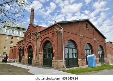 Pump House Steam Museum building  in Kingston, Ontario, Canada