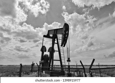 Pump jack in the Permian Basin