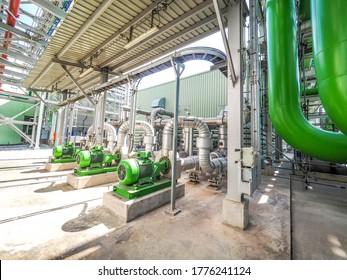 Pump und Motor, die beliebt, um mit Rohren in der Industrie wie Chemie, Kraftwerk, Öl und Gas installieren.