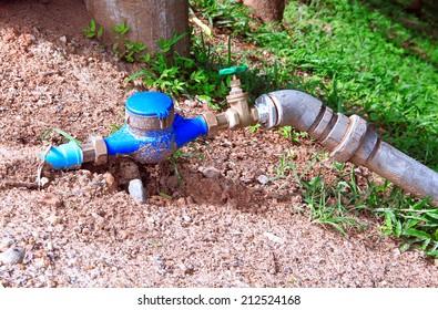 Pump plumbing tube pipe