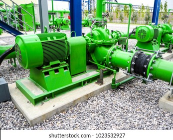 Pump in power plant.