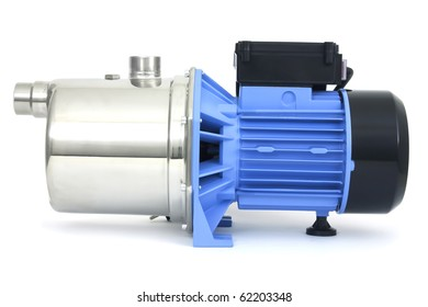Pump water industry with an electric motor
