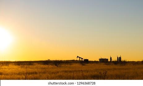 Pumpjacks at Sunrise