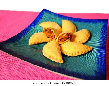 Pumpkin filled pastry