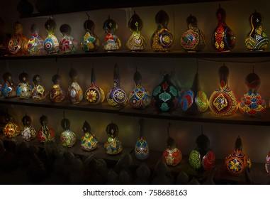 Pumpkin lanterns in Turkey