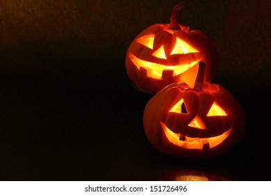 pumpkin on the Halloween day