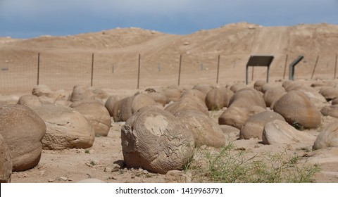 Pumpkin Patch Rocks in Ocotillo Wells Off Road Vehicle Area California