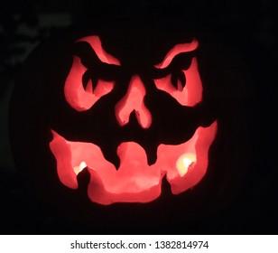 pumpkin pattern for helloween .