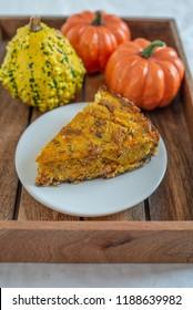 pumpkin quiche lorraine