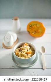 pumpkin and sage risotto
