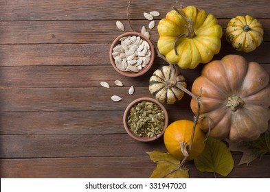 pumpkin with seeds