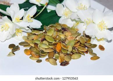 Pumpkin seeds as an ingredient for healthy cookies