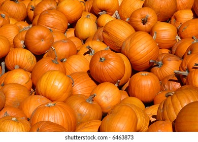 pumpkins stacked in autumn