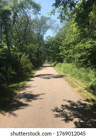 Pumpkinvine Trail, Middlebury, IN. 16mi cycle route over an old railroad.