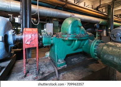 Pumps in the old power plan