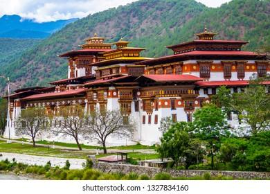 punakha Dzong, Punakha. Bhutan