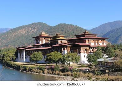 Punakha Fort - Bhutan