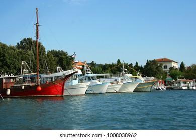Punat, fishing boat, island of Krk, Croatia