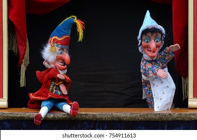 Punch and Judy Puppet show in London 2015