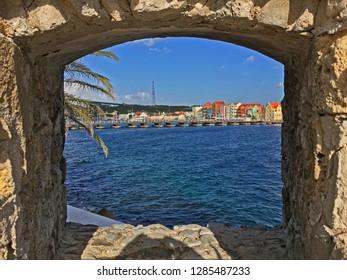 Punda Willemstad waterfront Curacao