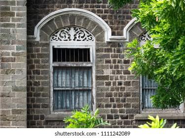 Pune, India - June 10 2018: The Nana Wada Buildings at Pune, India.