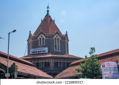 Pune, India - October 28 2018: The Mahatma Phule Mandai at Pune India.