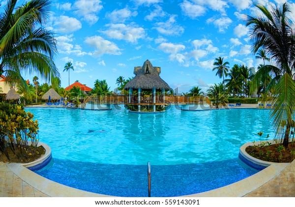 Dominican Republic Resorts >> Punta Cana Dominican Republic February 21 Stock Photo Edit