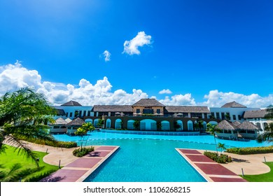 PUNTA CANA, DOMINICAN REPUBLIC - OCTOBER 31, 2015: Hard Rock Hotel and Casino Punta Cana
