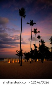 PUNTA CANA DOMINICAN REPUBLIC SUNSET CARIBE TOURISM