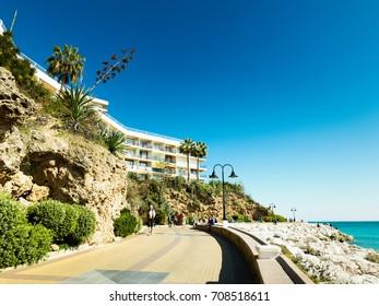 Punta de Torremolinos, Torremolinos, Costa del Sol Occidental, Malaga, Andalusia, Spain