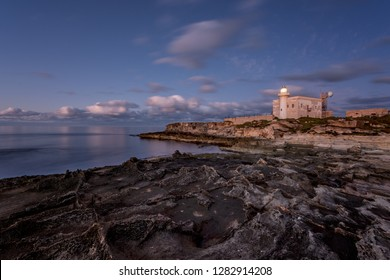 Punta Marsala Lighthouse, Favignana, Egadi Islands, Sicily