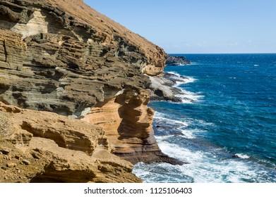 Punta Montana Amarilla, Tenerife islans travel destinations, Spain.