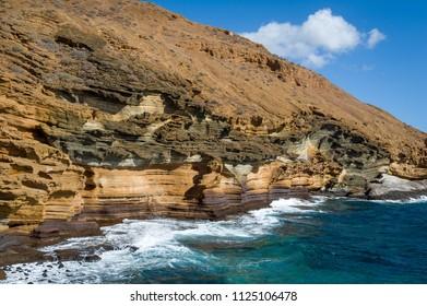 Punta Montana Amarilla, Tenerife islans, Spain.