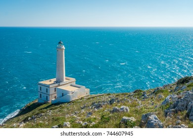 Punta Palascia, most easterly point of Italy, in the province of Lecce, Puglia.