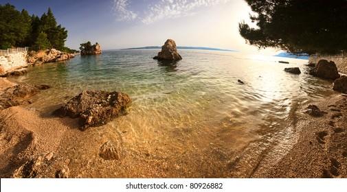 Punta Rata beach, Brela Croatia