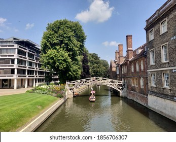 Punting in Cambridge during Summertime