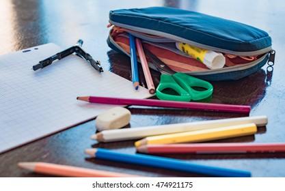 pupil's pencilcase